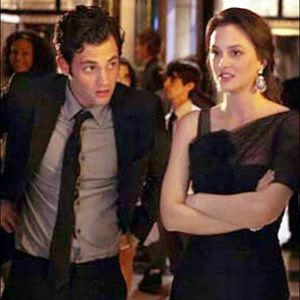 Blair Waldorf Gossip Girl Black Cocktail Dress